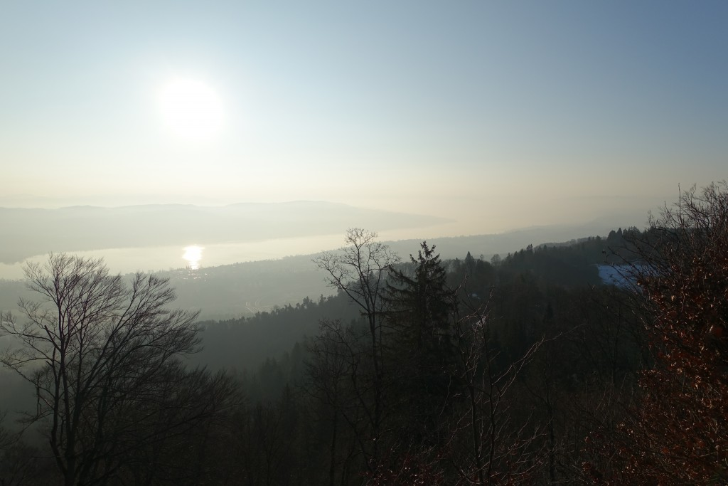 Nice atmosphere on top of Uetliberg at 7.30am.