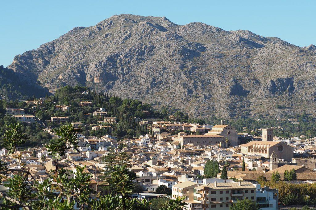 Pollenca, Mallorca - nicht ganz von der Spitze des Puig de Maria