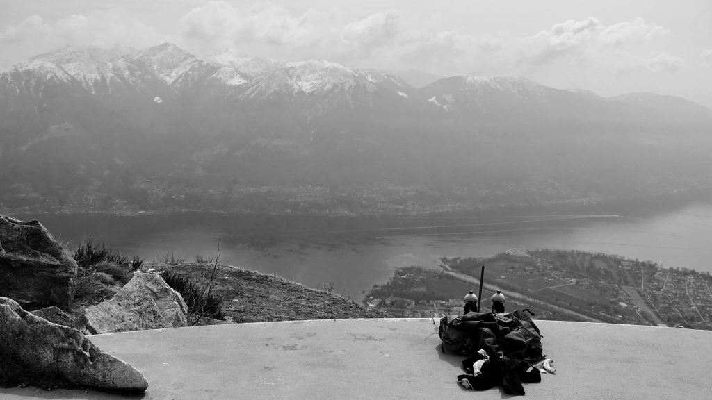 Vom wohl typischtsten Lauftrekabenteuer - auf der Gipfel der Cimetta