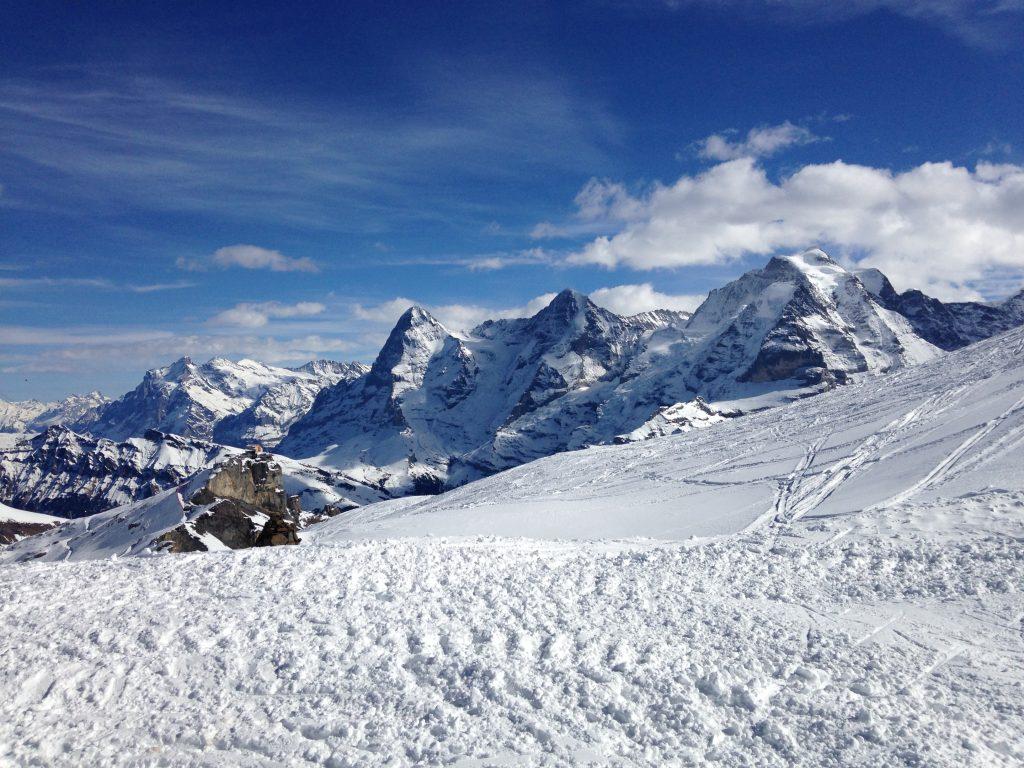 Mit neuen Ski macht die Schilthornabfahrt noch mehr Spass