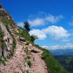 Über steile und ausgesetzte Pfade - Trailrun pur