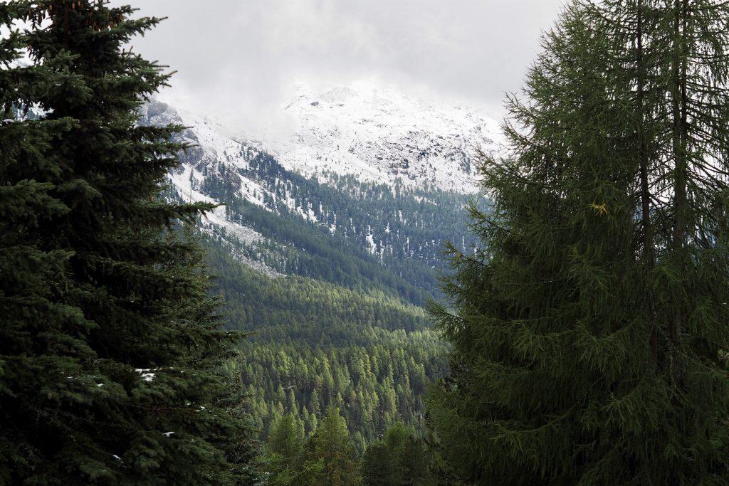 Fast endlose Wildnis - das Oberengadin hat etwas von den nordamerikanischen Rockies