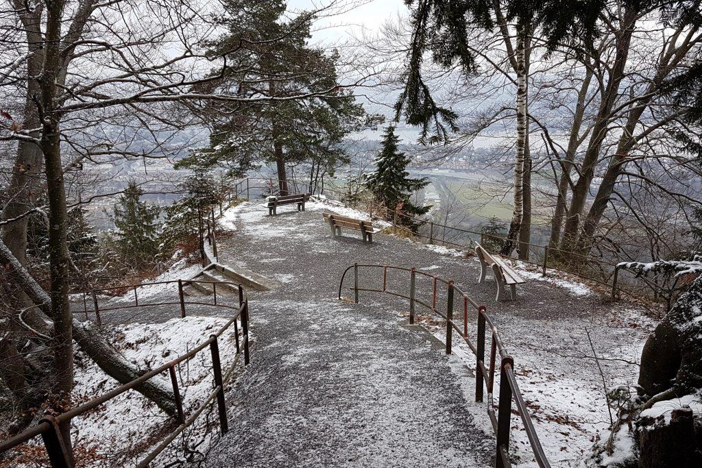Abwechslungsreicher Lauf bergab und schöne Aussicht über Zürich am Föhreneggweg