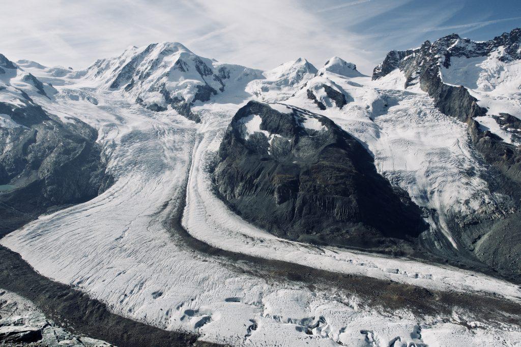 Neben dem Matterhorn das zweite Highlight: die Monte-Rosa-Gruppe