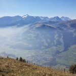 Der Wildstrubel, Lenk und die Nebelschwaden