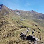 Der Grat des Wyssebergs - der wohl schönste Abschnitt an diesem Tag der Swiss Trail Tour
