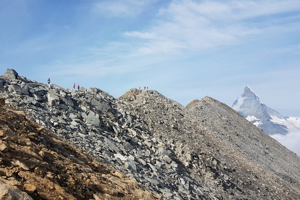Höhenmeter sammeln auf dem Gornergrat beim Matterhorn Ultraks